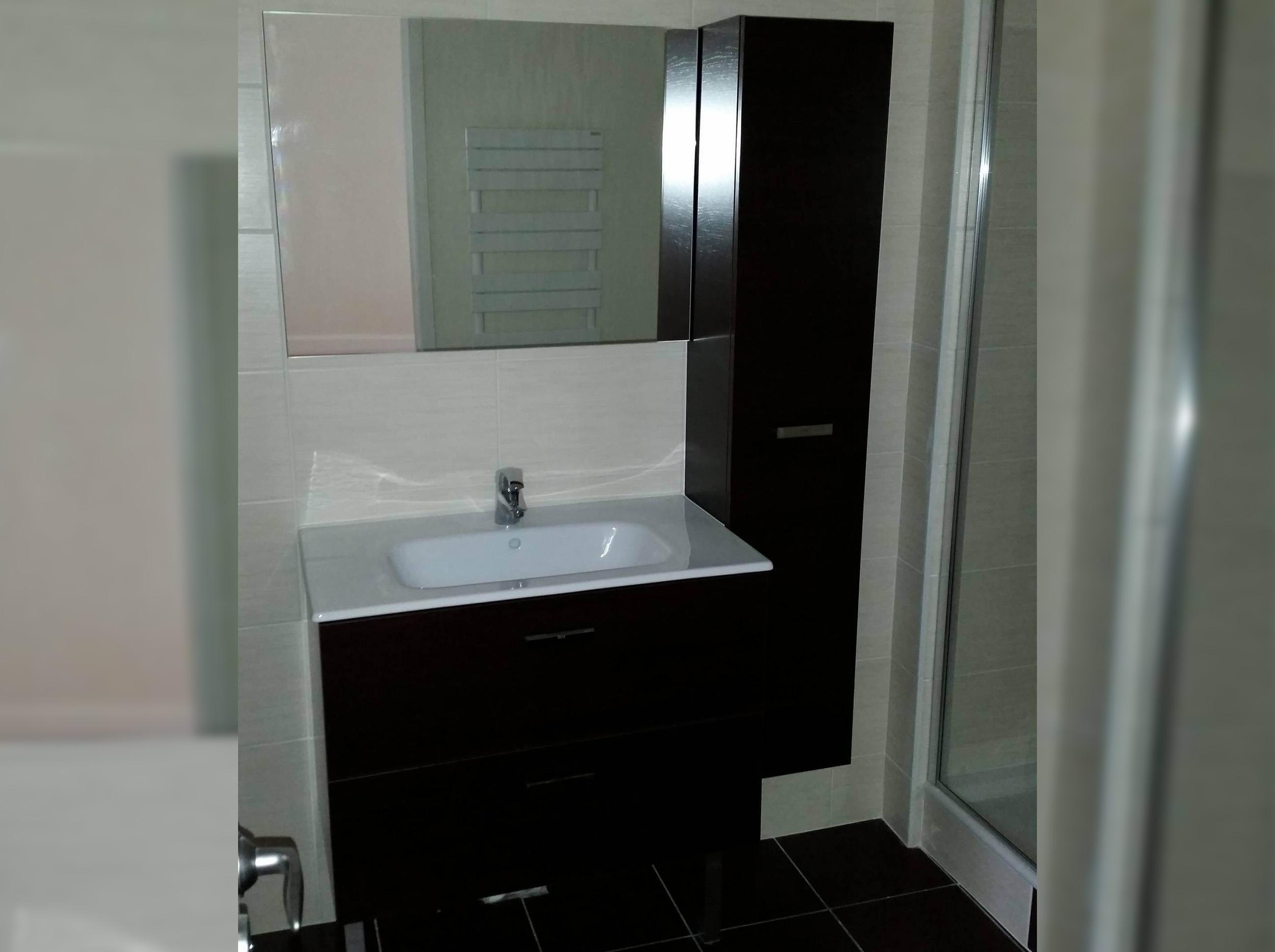 Rénovation de salle de bain à Décines-Charpieu