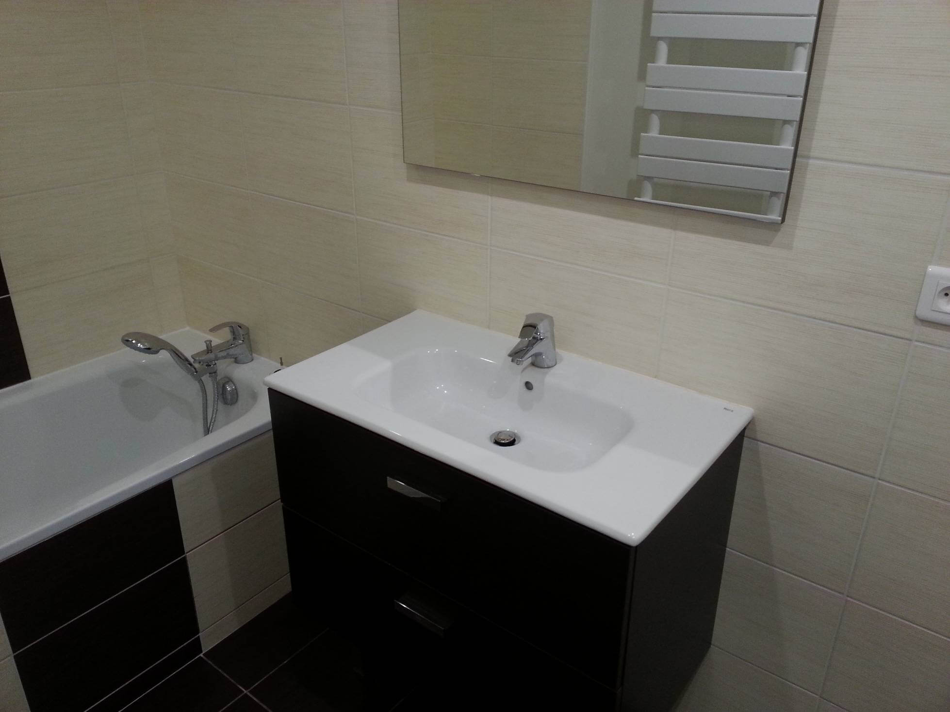 Révotation de salle de bain à Lyon 1